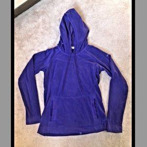 Columbia light fleece hoodie